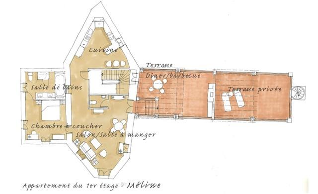 Melisse floor plan